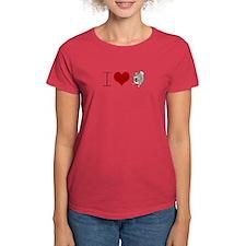 Funny Scientology: I Heart Squirrels T-Shirt