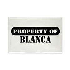 Property of Blanca Rectangle Magnet