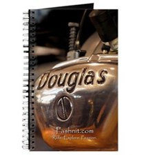 Douglas Motorcycle - Travel Notebook