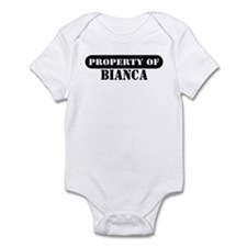 Property of Bianca Infant Bodysuit