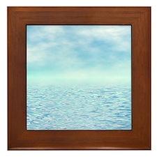 Sea of Serenity Framed Tile