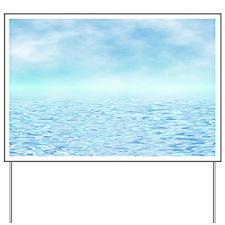 Sea of Serenity Yard Sign