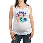 Grand Lake Old Circle.png Maternity Tank Top