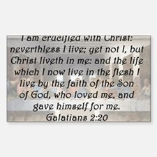 Galatians 2:20 Decal