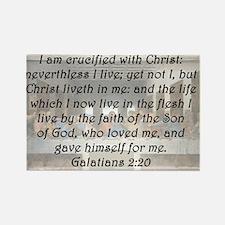 Galatians 2:20 Rectangle Magnet