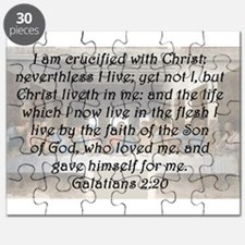 Galatians 2:20 Puzzle
