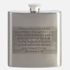 Galatians 2:20 Flask