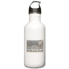 Galatians 2:20 Water Bottle