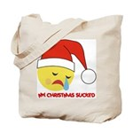 My Christmas Sucked Tote Bag