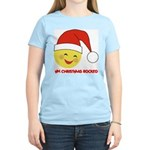 My Christmas Rocked Women's Pink T-Shirt
