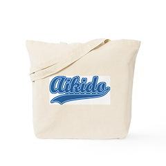 Retro Aikido Tote Bag