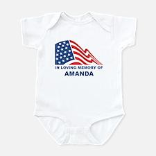 Loving Memory of Amanda Infant Bodysuit