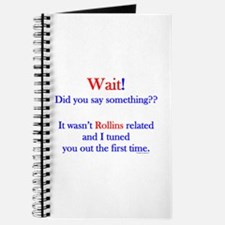Say Something Rollins Journal