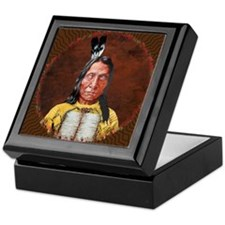 Red Cloud Keepsake Box