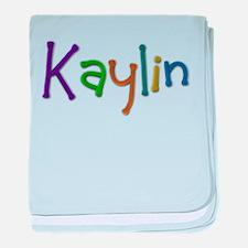 Kaylin Play Clay baby blanket