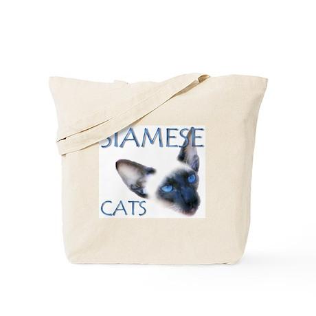 Tote Bag - Siamese Cats