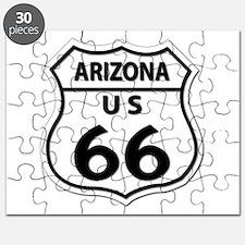 U.S. ROUTE 66 - AZ Puzzle