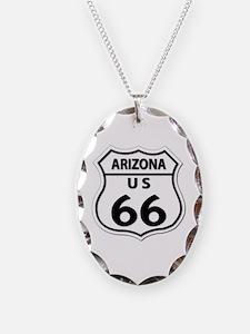 U.S. ROUTE 66 - AZ Necklace