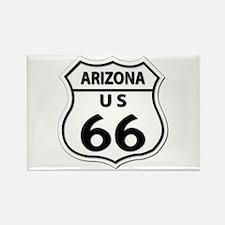 U.S. ROUTE 66 - AZ Rectangle Magnet