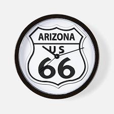 U.S. ROUTE 66 - AZ Wall Clock