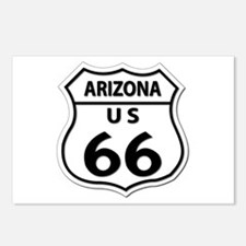 U.S. ROUTE 66 - AZ Postcards (Package of 8)