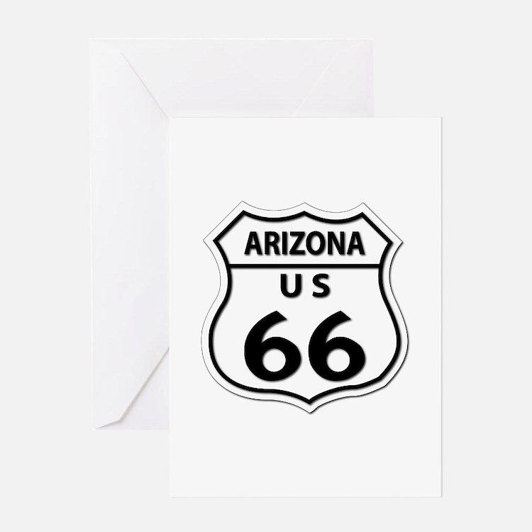 U.S. ROUTE 66 - AZ Greeting Card