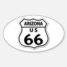 U.S. ROUTE 66 - AZ Decal