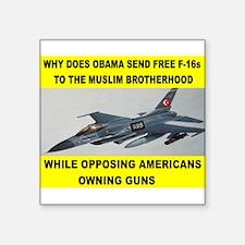 MUSLIM PLANES Sticker