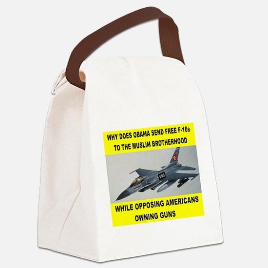 MUSLIM PLANES Canvas Lunch Bag