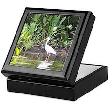 Egret in Wakulla Springs Keepsake Box