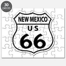 U.S. ROUTE 66 - NM Puzzle