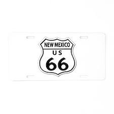 U.S. ROUTE 66 - NM Aluminum License Plate