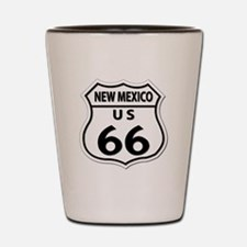 U.S. ROUTE 66 - NM Shot Glass