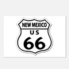 U.S. ROUTE 66 - NM Postcards (Package of 8)
