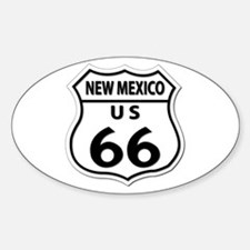 U.S. ROUTE 66 - NM Decal