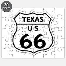 U.S. ROUTE 66 - TX Puzzle