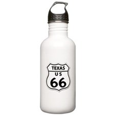 U.S. ROUTE 66 - TX Water Bottle