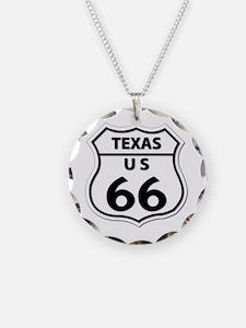 U.S. ROUTE 66 - TX Necklace
