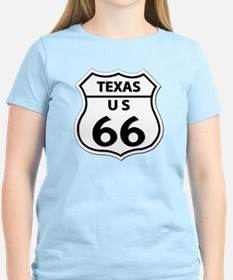 U.S. ROUTE 66 - TX T-Shirt