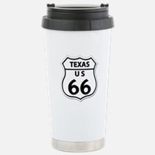 U.S. ROUTE 66 - TX Stainless Steel Travel Mug