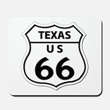 U.S. ROUTE 66 - TX Mousepad