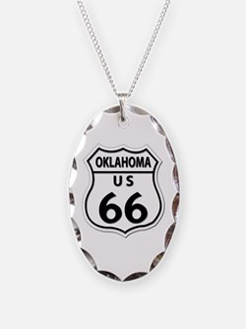 U.S. ROUTE 66 - OK Necklace