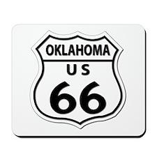 U.S. ROUTE 66 - OK Mousepad