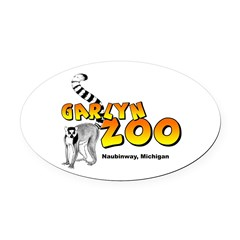 GarLyn Zoo Oval Car Magnet