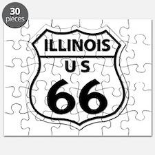 U.S. ROUTE 66 - IL Puzzle