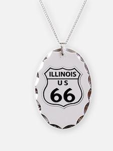U.S. ROUTE 66 - IL Necklace