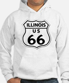 U.S. ROUTE 66 - IL Hoodie