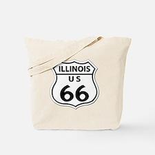 U.S. ROUTE 66 - IL Tote Bag