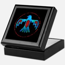 Red and Blue Thunderbird Keepsake Box