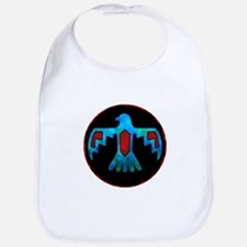 Red and Blue Thunderbird Bib